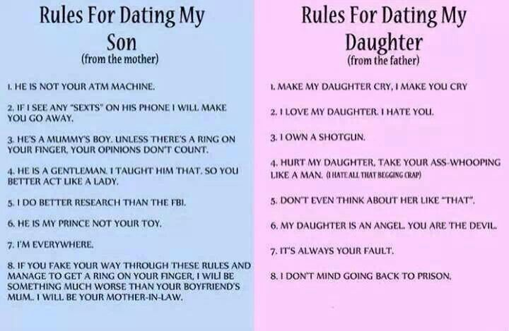 The rules of dating my daughter