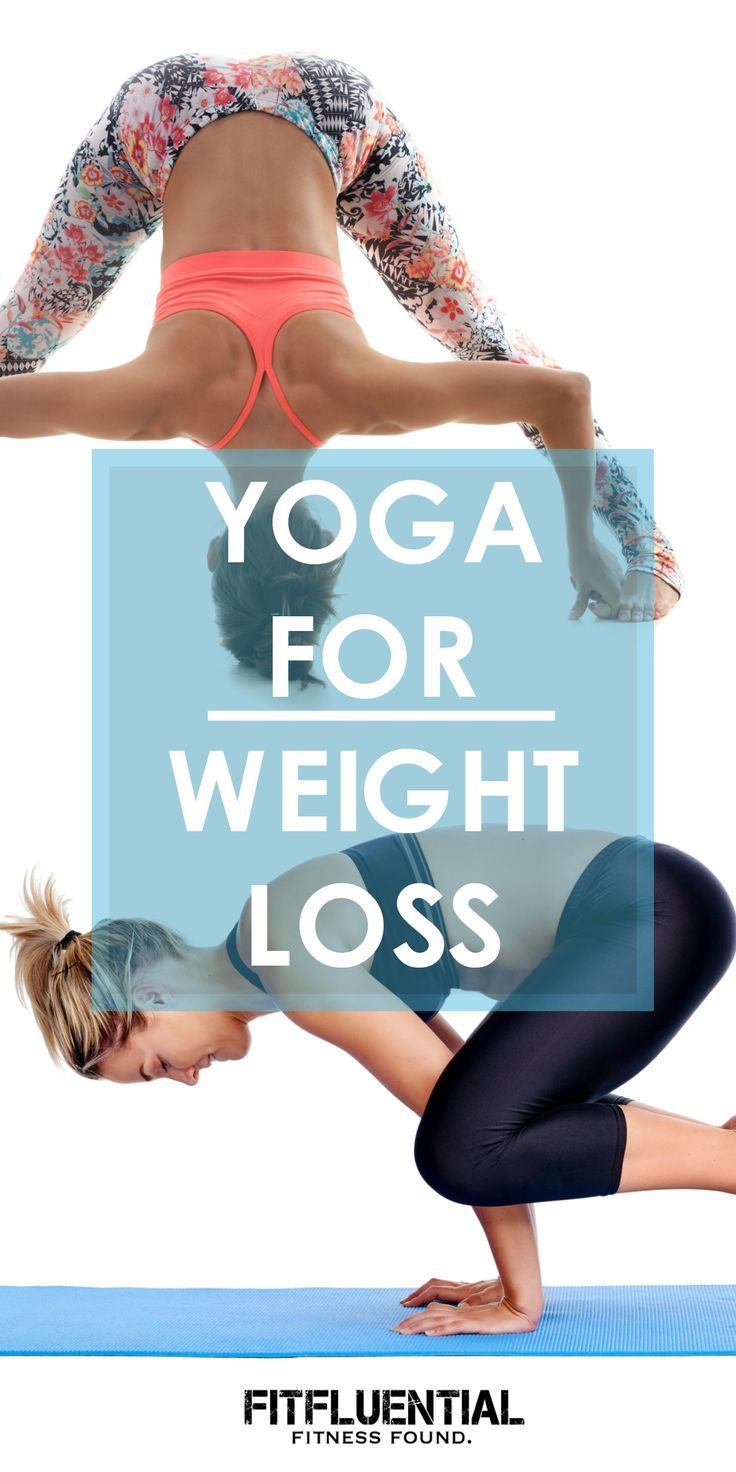 Learn how yoga can help you reach your weight loss goals