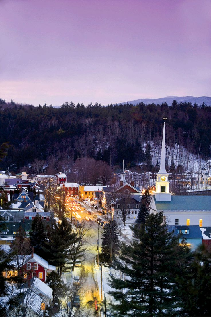 Stowe Vermont , our honeymoon destination/ favorite most wonderful place in the world!