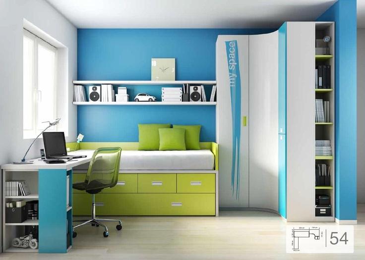 Consejos antes de pintar una habitaci n juvenil infantil mueble juvenil muebles ros - Muebles habitacion infantil ...
