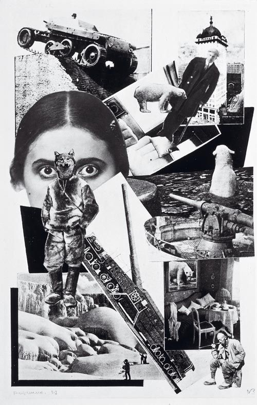 Alexander Rodchenko, Photomontage for Majakovski's