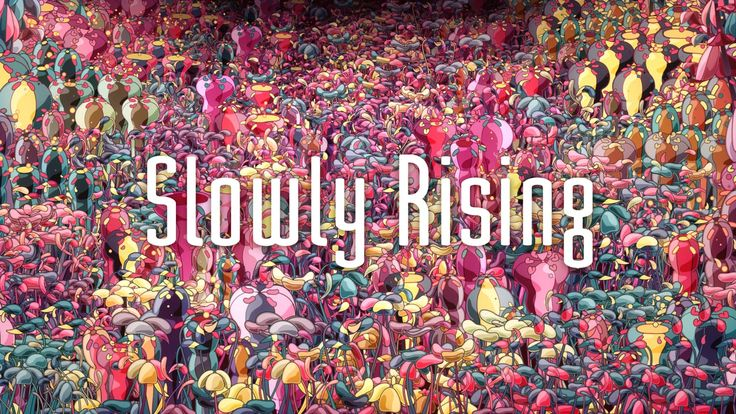 "Official music video for BEATSOFREEN "" Slowly Rising""  directed by Hideki Inaba vimeo.com/kanahebi tumblr.com/blog/kanahebi1783  mastered…"