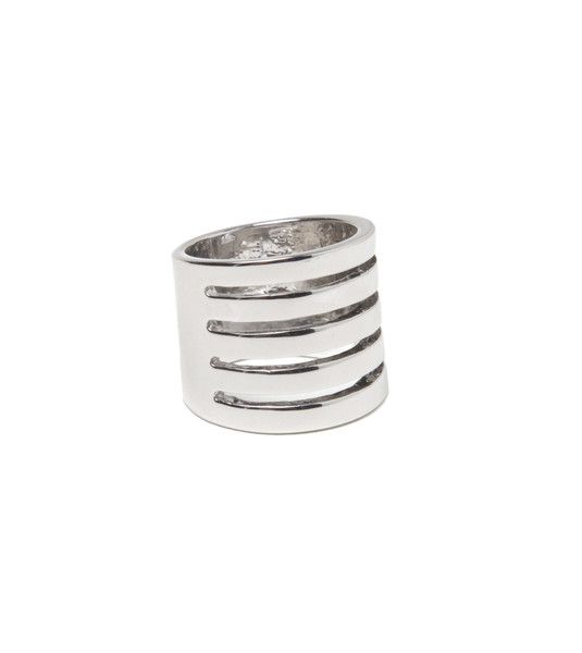 Line Cutout Ring | Fashion Statement Jewelry Rings | HOTTT.COM