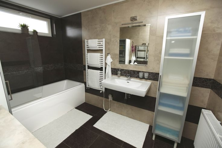 Brown and beige bathroom bathroom bathroom beige for Brown beige bathroom ideas