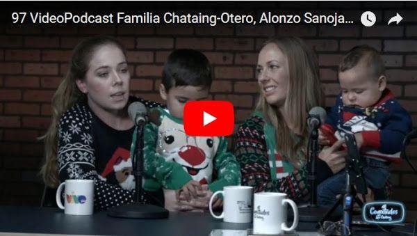 El mensaje de navidad cantado de Luis Chataing y toda su familia