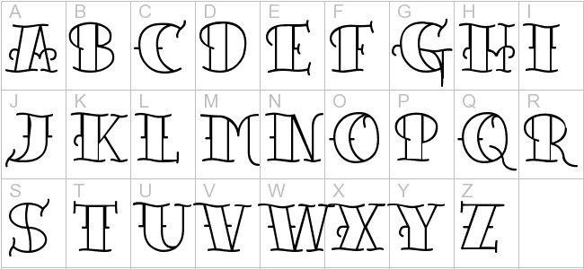 lettering 20 Tattoo Lettering Font Lettering