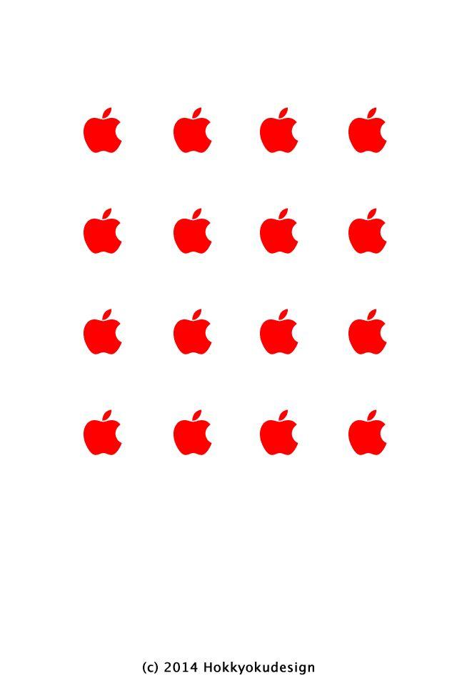 リンゴがいっぱい かわいいiphone壁紙 Iphone壁紙ギャラリー Iphone壁紙 アップルの壁紙 Iphone 壁紙