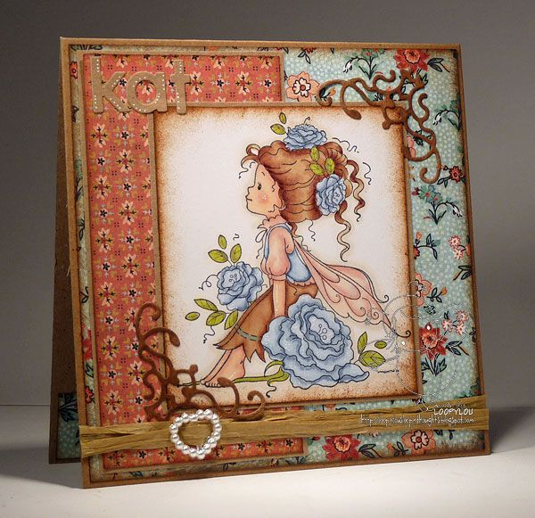 Dies to Die For: Rosetta...Whimsy stamp