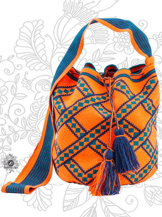 Luxury Wayuu Mochila Bag by Jardin del Cielo by JardindelCielo