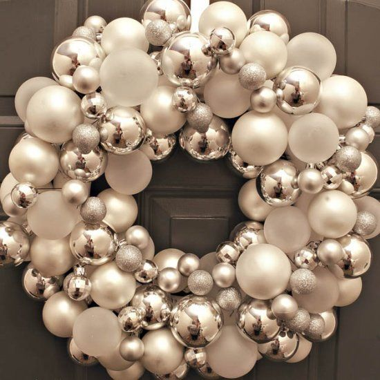 Learn my secret tool I used to create my christmas ornament wreath!