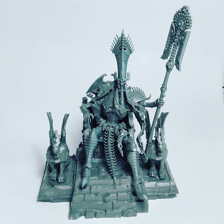 Warhammer Age of Sigmar | Undead | Nagash conversion on Magewrath Throne #warhammer #ageofsigmar #aos #sigmar #wh #whfb #gw #gamesworkshop #wellofeternity #miniatures #wargaming #hobby #fantasy