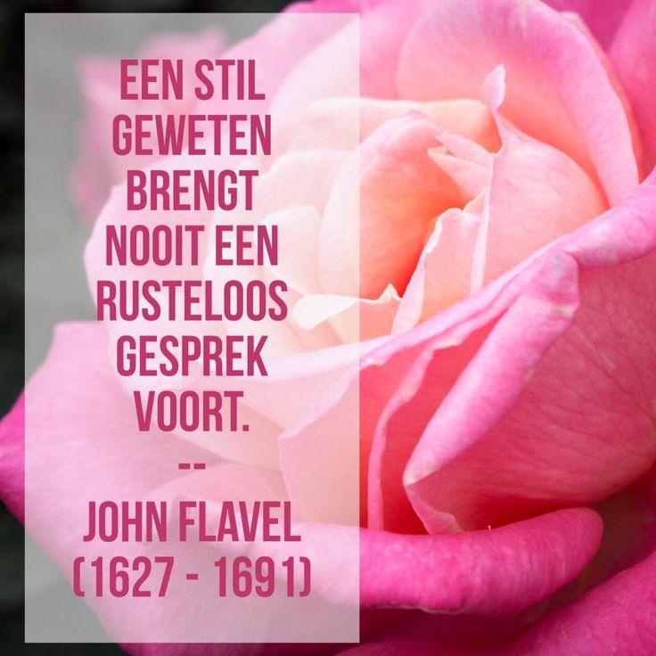 Een stil geweten - John Flavel (1627 – 1691)