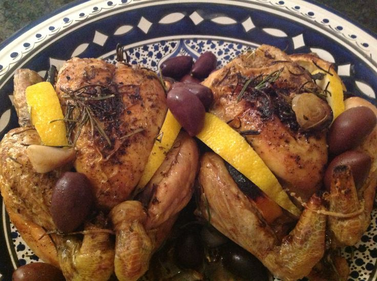 Thyme-Roasted Poussin Recipe — Dishmaps