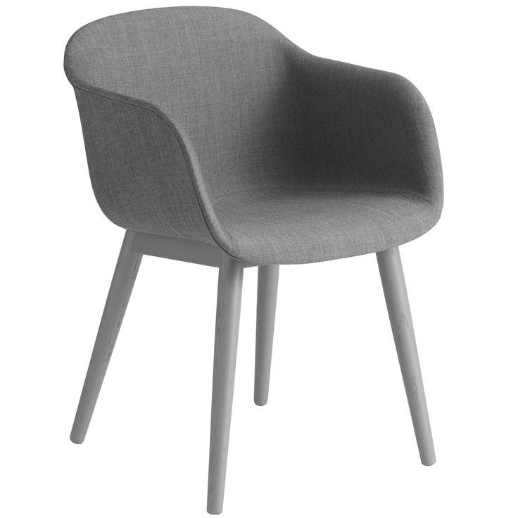 Fiber Wood gestoffeerde stoel   Muuto