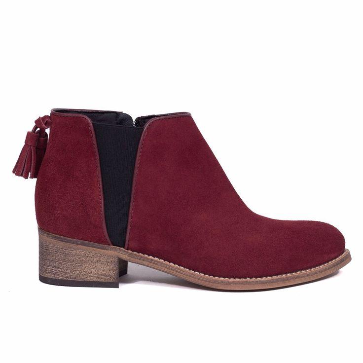 Botin Chelsea Rojo – miMaO ShopOnline