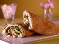 Rolled Chicken Sandwich with Arugula and …