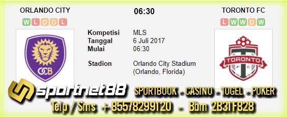 Prediksi Skor Bola Orlando City vs Toronto 6 Jul 2017 MLS di Orlando City Stadium (Orlando, Florida) pada hari Kamis jam 06:30 live di beIn Sport 2,