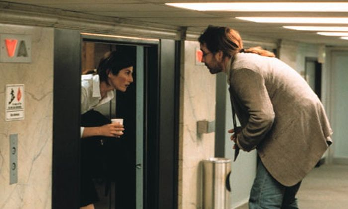 Catherine Keener and John Cusack in Being John Malkovich