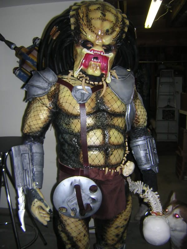 When My Brain Leaks, the Drops Drip Here.: Past Project: Predator Costume