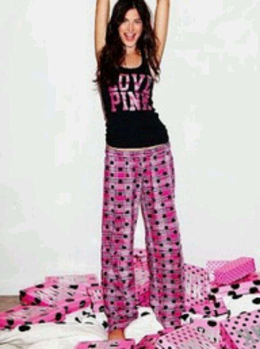 Vs love pink pajamas