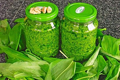 Walnuss - Bärlauch Pesto 1