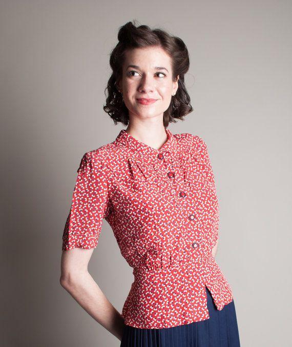Best 25  Vintage blouse ideas on Pinterest | Vintage clothing ...