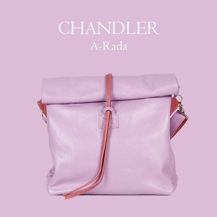 Leather crossbody bag by A-Rada Chandler