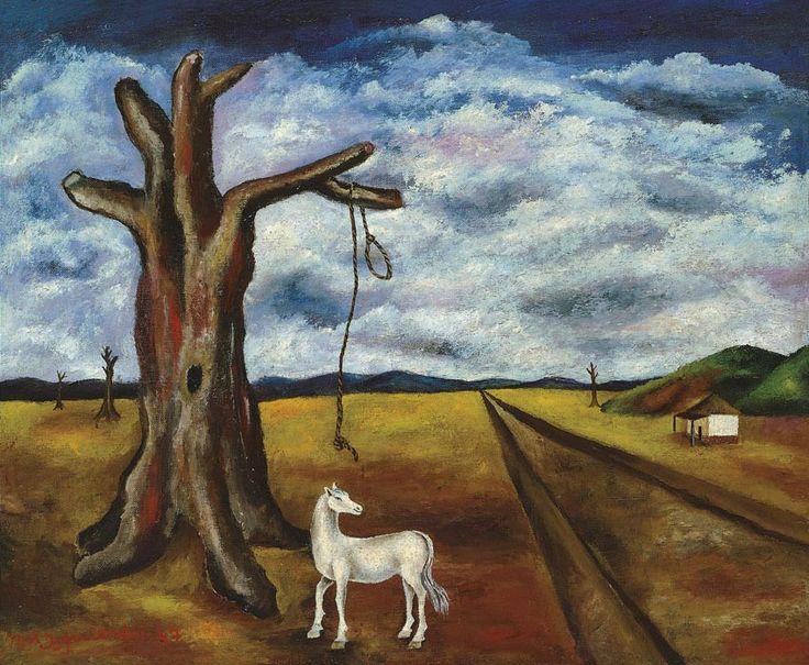 María Izquierdo, La soga,1947