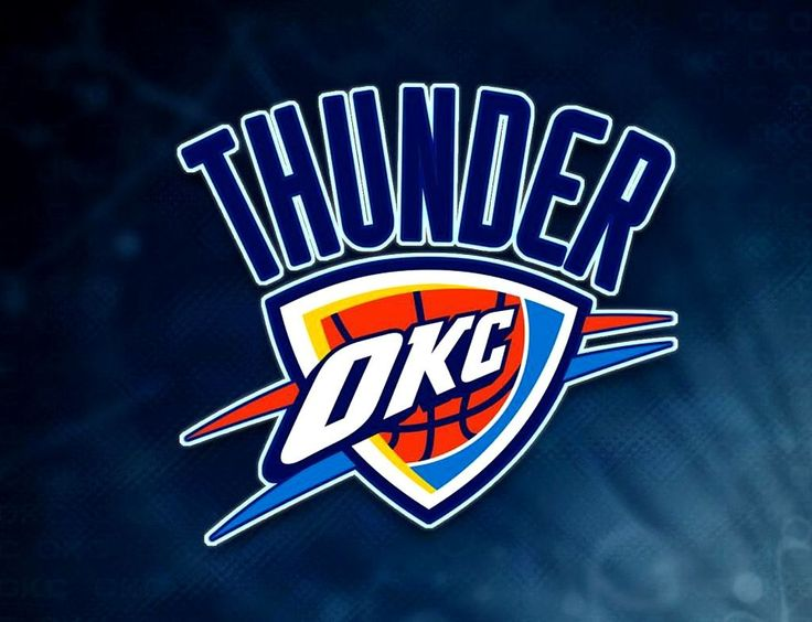 OKC Thunder NBA Logo
