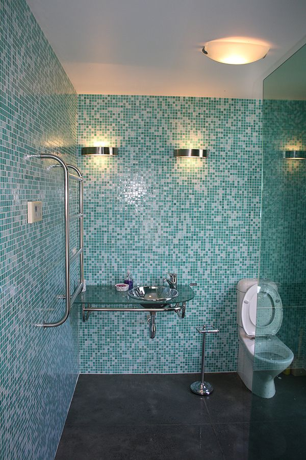 105 best mosaic tiled looks images on pinterest mosaic for Bathroom design new zealand