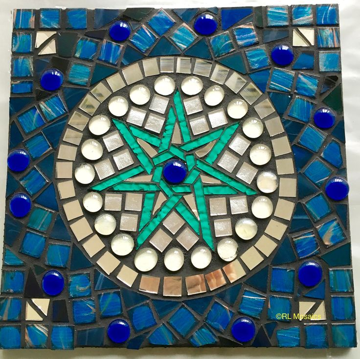 Elven Star Mosaic by Rozie