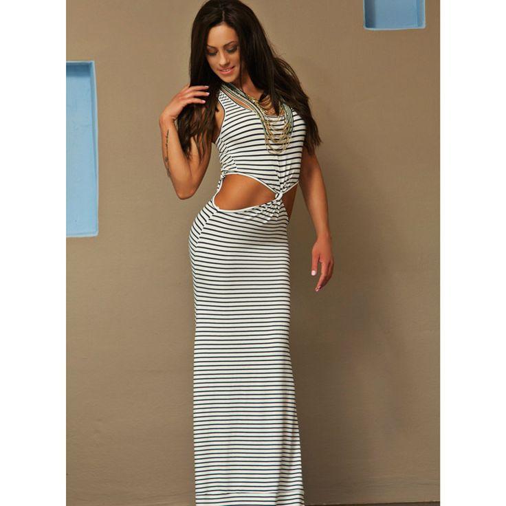 Φόρεμα maxi cropped