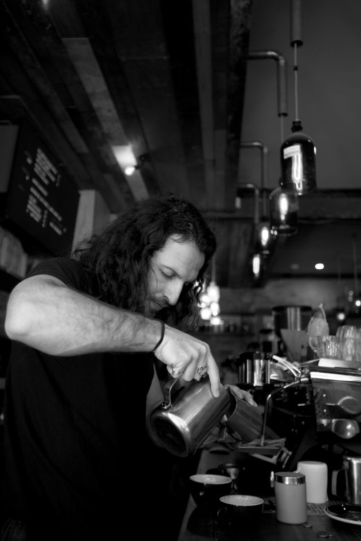 Alex Zamfir, barista from Sly Cafe Surry Hills
