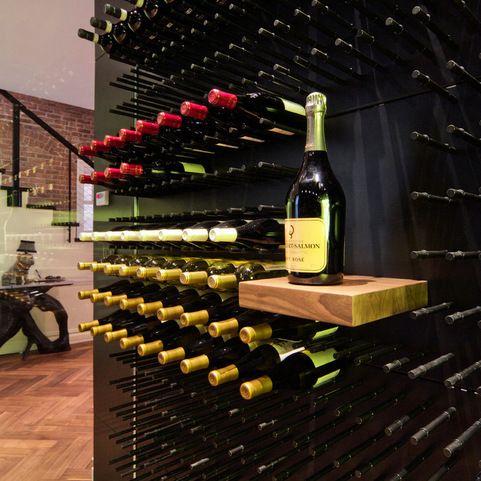 13 best modern wine cellars new york 39 black cellar 39 images on pinterest cellar doors wine. Black Bedroom Furniture Sets. Home Design Ideas