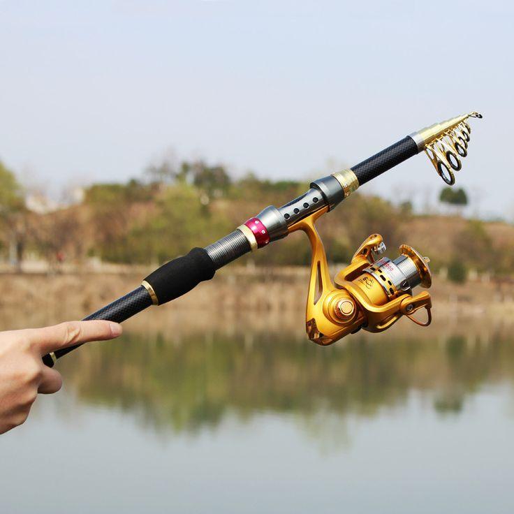 """Best product from China - Купить """"2016 телескопический стержень сверхлегкий спиннинг зимняя удочку летать углеродного волокна море рыболовля рук снасти для рыбалки"""" всего за 14.88 USD."""