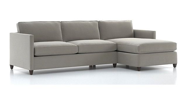 Dryden 2 Piece Sectional Left Arm Apartment Sofa Right Arm Chaise