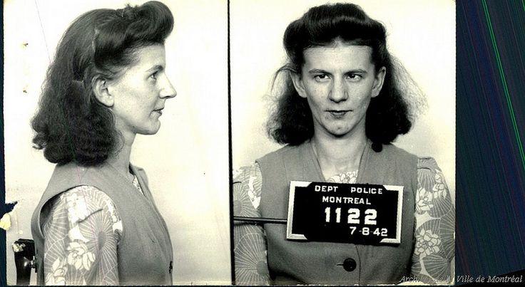 Madeleine Gagnon, 7 août 1942. P43-3-2_V26_E248-01 | by Archives de la Ville de Montréal