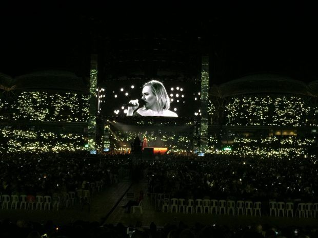 Review: Adele at Adelaide Oval