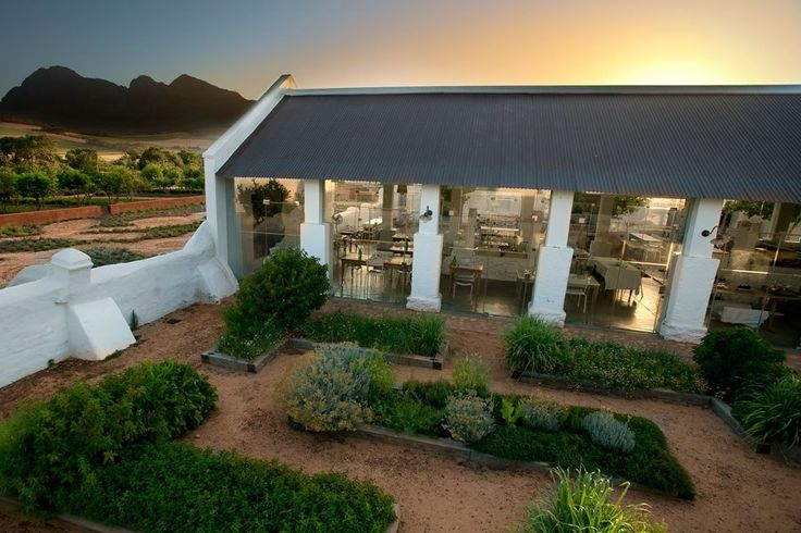 Babylonstoren near Franschhoek, South Africa, is set on a 615-acre working farm and winery