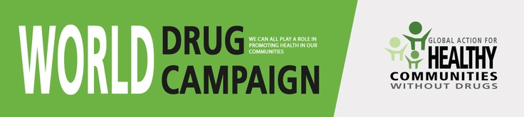 9 best images about World Drug Campaign on Pinterest ...