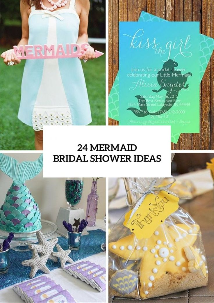 Mermaid Bridal Shower Ideas For Fairytale Lovers