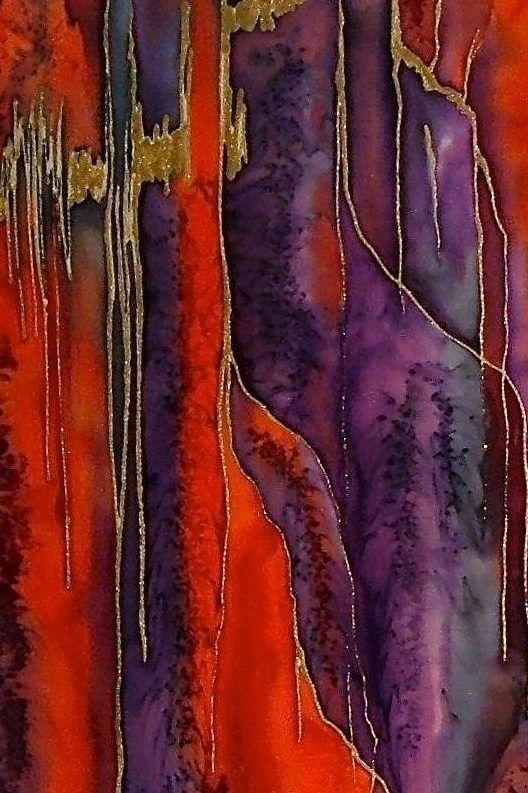 Meer dan 1000 idee n over schilderen op zijde op pinterest schilderijen batik kunst en kunst - Associatie van kleur e geen schilderij ...