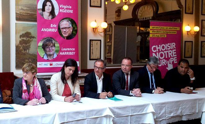 C'est Virginie Rozière qui mènera la liste PS PRG pour les élections européennes sur la circonscription sud ouest.