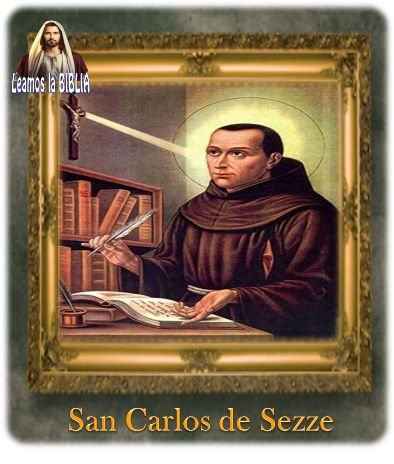 Leamos la BIBLIA: San Carlos de Sezze