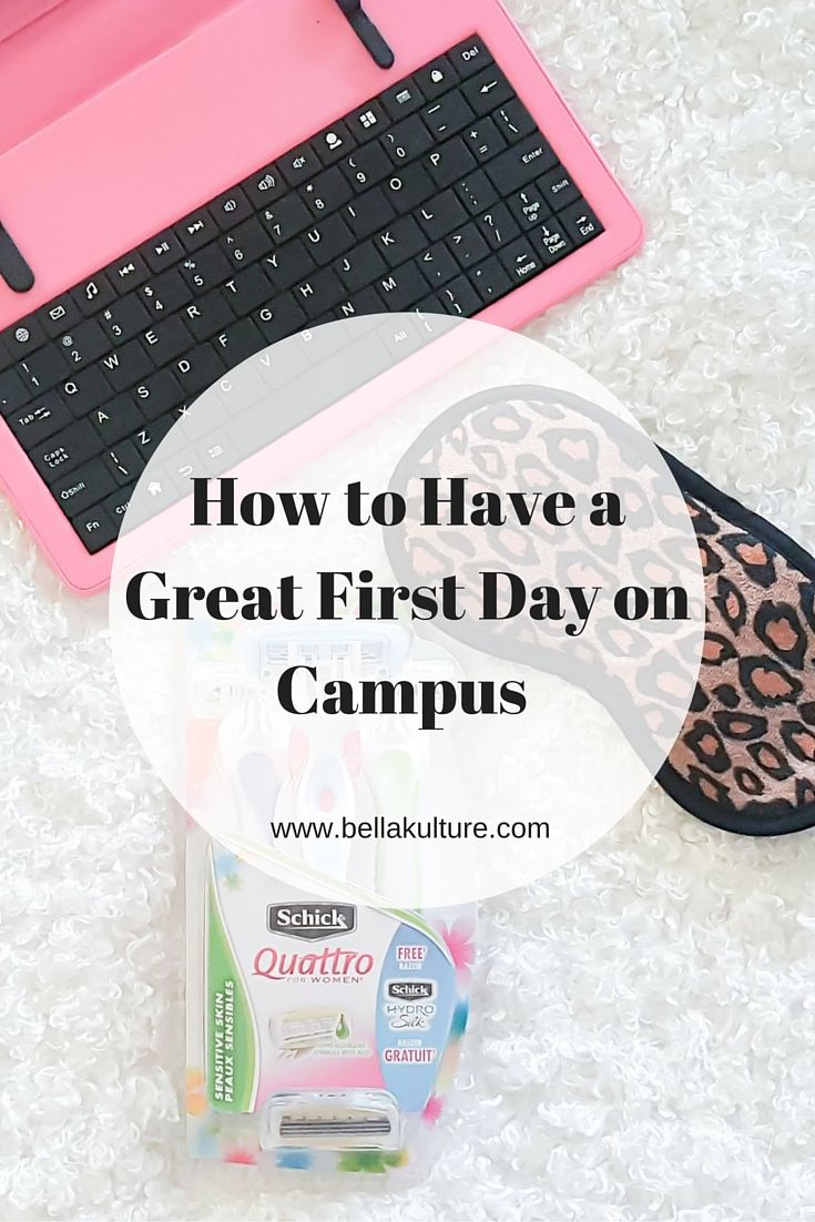 How To Have A Great First Day on Campus #sponsored #backtoschool