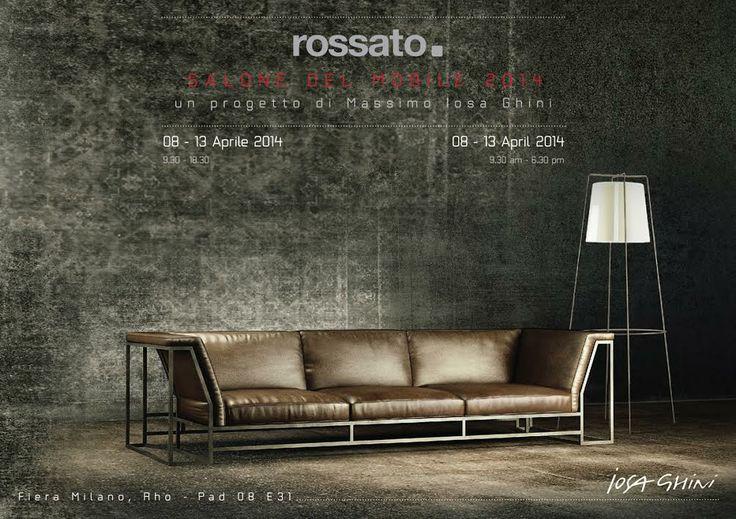 SAVE THE DATE - Milano Design Week - Rossato Invitation