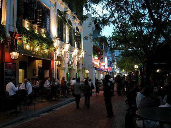 Boat Quay Pubs in Singapore