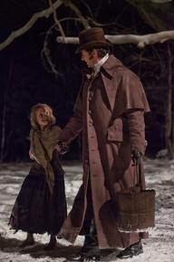Cosette and Jean Valjean.