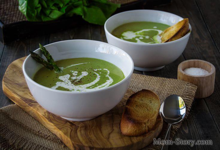 крем суп из спаржи