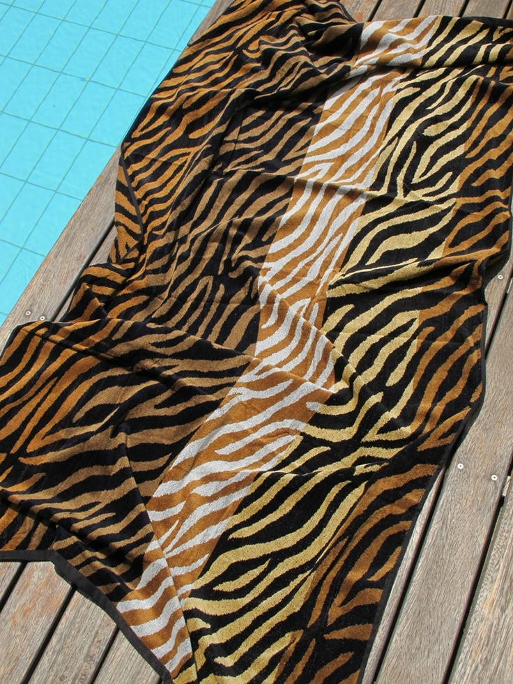 Tiger Skin Beach Towel - pennie.gr